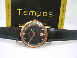 Candino Blue Sea Automatic Date Gold 18 Kt G.f. Years And03970 Menand039s Watch