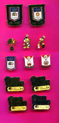 1984 Olympic Pin Media Abc Pins Pick A Pin 1-2 - All Lot Of 13 Pins Add To Cart