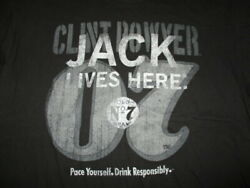 Chase Authentics Clint Bowyer No 07 Jack Daniels Lives Here Racing Xl T-shirt