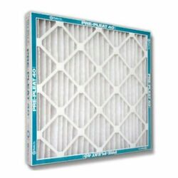 Flanders Pre Pleat 40 Lpd - 12'' X 24'' X 4'' - High Capacity Pleated Filters...
