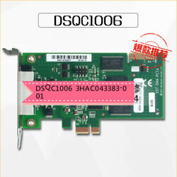 For Abb Control Cabinet Spare Parts Dsqc1006 Devicenet Board 3hac043383-001