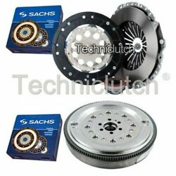 Sachs 3 Part Clutch Kit And Sachs Dmf For Audi A6 Berlina 1.8 T