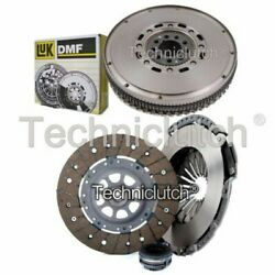 Nationwide 3 Part Clutch Kit And Luk Dmf For Audi 100 Estate 2.8 E