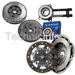 ECOCLUTCH 2 PART CLUTCH KIT AND SACHS DMF WITH CSC FOR MAZDA 2 HATCHBACK 1.4 CD