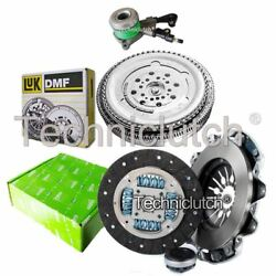 Valeo 3 Part Clutch Kit And Luk Dmf And Csc For Mercedes-benz Vito Box 113 2.0