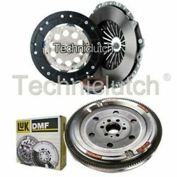 Nationwide 3 Part Clutch Kit And Luk Dmf For Audi A4 Convertible 1.8 T