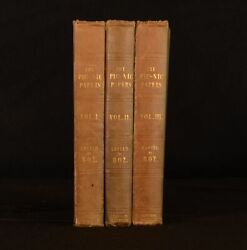 1841 3vol The Pic Nic Papers 1st Edition 1st Issue Very Scarce Original Binding