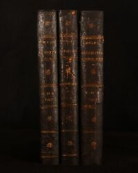 1785-87 6 Vol In 3 Antiquities Of England And Wales Frances Grose Illus