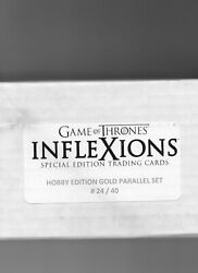 Game Of Thrones Inflexions - Gold Platinum Edition 150-card Parallel Set - 24/40
