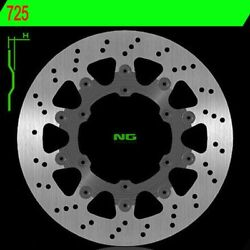 Brake Disc Ng 725 320mm Floating For Ktm 600 Lc4 Exc 4t 1993-1993