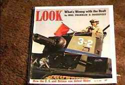 Look Magazine 1941 July 15 Fine+ File Copy Tank Military Army Wwii The Draft
