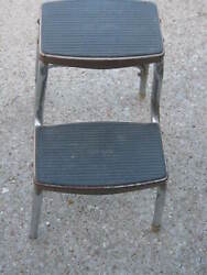 Vintage Ames Maid Step Stool Kitchen Pantry Chair
