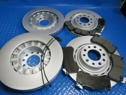 Bentley Mulsanne Front Rear Brake Pads And Rotors 6744 Topeuro