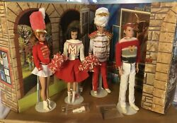 Vintage Barbie On Parade Dolls, Outfits, And College Complete With Extras