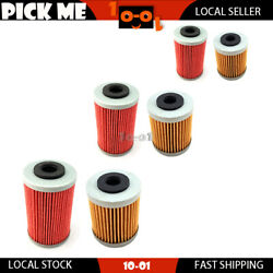 6pcs 1st+2nd Oil Filter For Ktm 400 Sx / Mxc / Exc 2004 2005 Local Stock