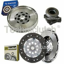 Luk Clutch Kit And Sachs Dmf With Csc For Vauxhall Signum Hatchback 1.9 Cdti 16v