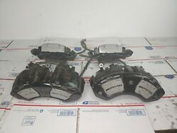 07 08 09 Mercedes S63 AMG W221 Set of 4 Front Rear Left Right Brake Calipers OEM