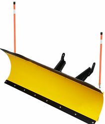 72 Inch Denali Pro Utv Snow Plow Kit In Yellow - Odes Dominator 800 And 1000