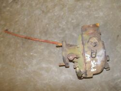 Allis Chalmers Wd Wc Tractor Froze Carburetor Assembly Ac + Linkage Control Rod