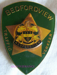 In13301 - Obsolete Bedfordview Traffic Police Badge - South Africa