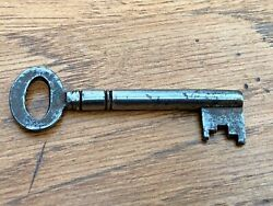 Early 1900s Chest Of Draws Or Cabinet Hollow Bore Key Ref 5