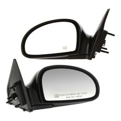 Power Mirror Set Of 2 For 2004-2009 Kia Spectra Heated Manual Folding Paintable