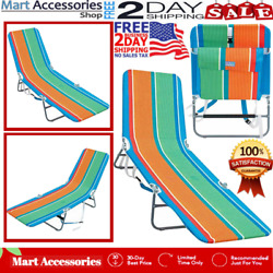NEW Rio Portable Folding Chair Compact With Backpack For Beach Camping Outdoor
