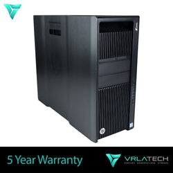 Build Your Own Hp Z840 Workstation 2x E5-2687w V3 10 Core 3.10 Ghz Win10 Pro