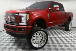 2019 Ford F-250  F250 Used Diesel Custom Lift Kit PMF American Force Ruby Red