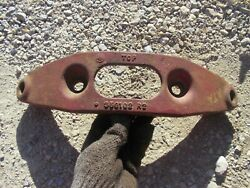 Farmall Mta Smta Tractor Orgnal Ih Front Pedestal Cultivator Mounting Bracket