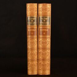 1849 2vols The History Of England The Thirty Years Of Peace Harriet Martineau