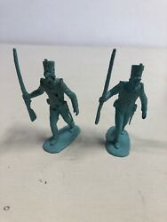 Mexican Soldier British Set Plastic Toy Copy Marx Figures Made In Mexico N6