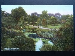 London Parks The Dell, Hyde Park - Old Postcard By J.w.b. 307