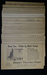 Rare Vintage Hobby Post Trading Set Of 24 Wanted/reward Wild West Cards