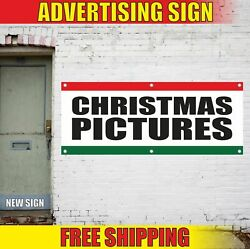 Christmas Pictures Advertising Banner Vinyl Mesh Decal Sign Mary Holiday Shop 24