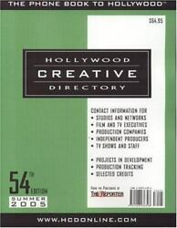 Hollywood Creative Directory Paperback Staff Of Hollywoood Creative Directory