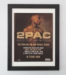 2pacuntil The End Of Time2001originalposteradframedfast World Ship