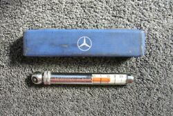 Mercedes Benz Tyre Gauge For Tool Box Mb Car Tire Accessory Vintage Classic