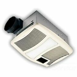 Broan-nutone Qtxn110hl Ultra Silent Series Heater/fan/light 2 60w Incandescent