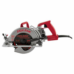 Skilsaw Shd77m Magnetic Worm Drive Corded Circular Saw, 120 V, 15 A, 7-1/4 In