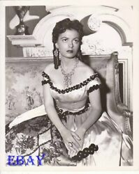 Faith Domergue Busty Sexy In Tv Count Of Monte Cristo Vintage Photo