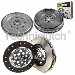 Nationwide 2 Part Clutch Kit And Sachs Dmf For Renault Laguna Hatchback 1.9 Dci