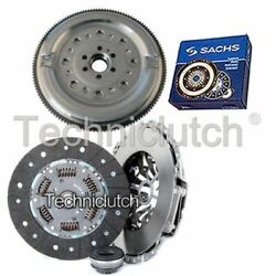 Nationwide 3 Part Clutch Kit And Sachs Dmf For Audi A6 Berlina 1.9 Tdi