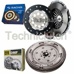 Sachs 3 Part Clutch Kit And Luk Dmf For Audi A4 Saloon 2.0