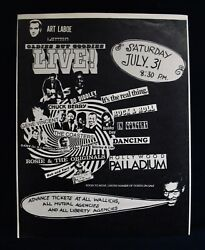 Art Laboe Oldies But Goodies Live Postergene Vincent And Bo Diddleyhollywood