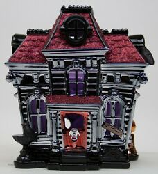 Halloween 2019 Bath And Body Works Haunted House Inn 3 Wick Candle Holder Luminary