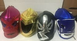 Mexican Wrestlers Lucha Libre Mini Mask 3.5 Inches Key Chain Or As Decoration