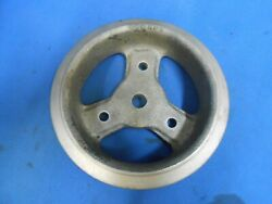 Chevrolet Crank 2 Groove Pulley Harmonic Balancer Pulley 400209 Modified Vintage