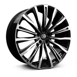 22 Hawke Chayton Polished Alloy Wheels / Tyres For Range Rover Vogue And Sport