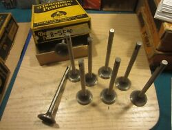 1933 1934 Chevy And Truck Exhaust Valves 9 Pcs Thompson